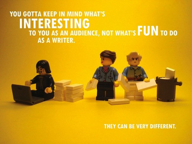 Pixar's Story Rules, Illustrated in Lego