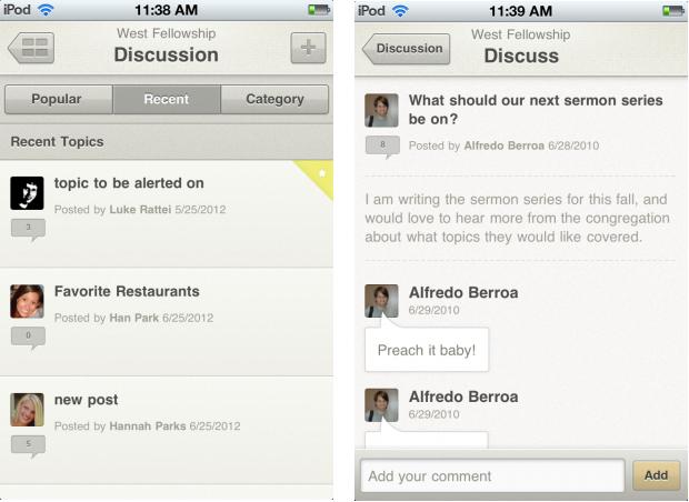 The Table iOS App
