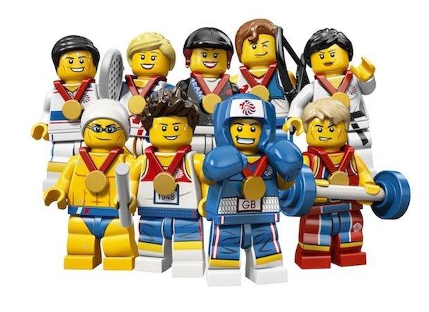 LEGO London 2012 Olympics Minifigures