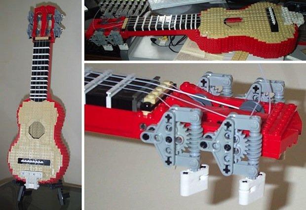 playable lego instruments