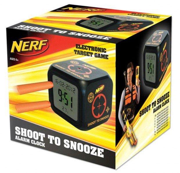 Shoot to Snooze Alarm Clock