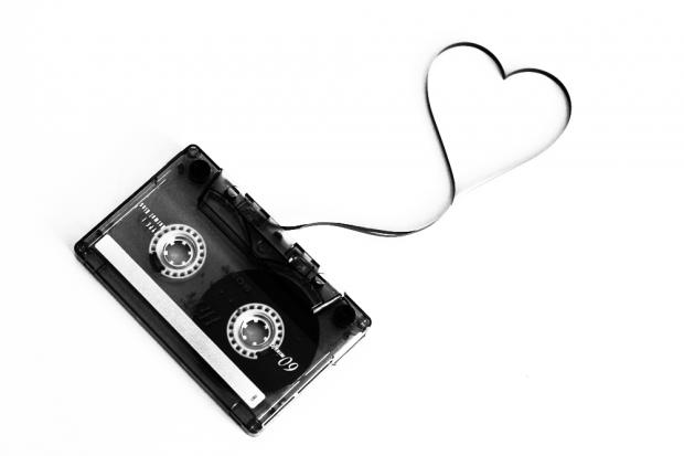 mix tape love cassette