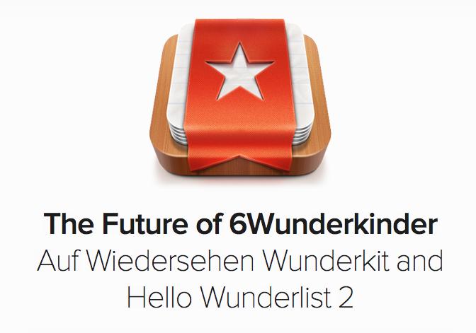Wunderlist 2 Announced
