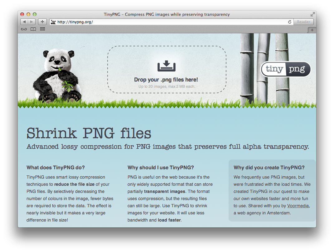 How-To Shrink PNG Files While Retaining Transparency