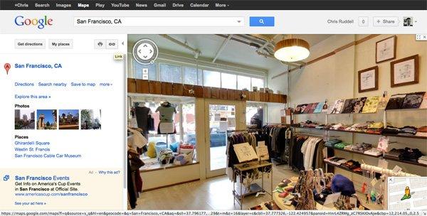 Google Maps Interior