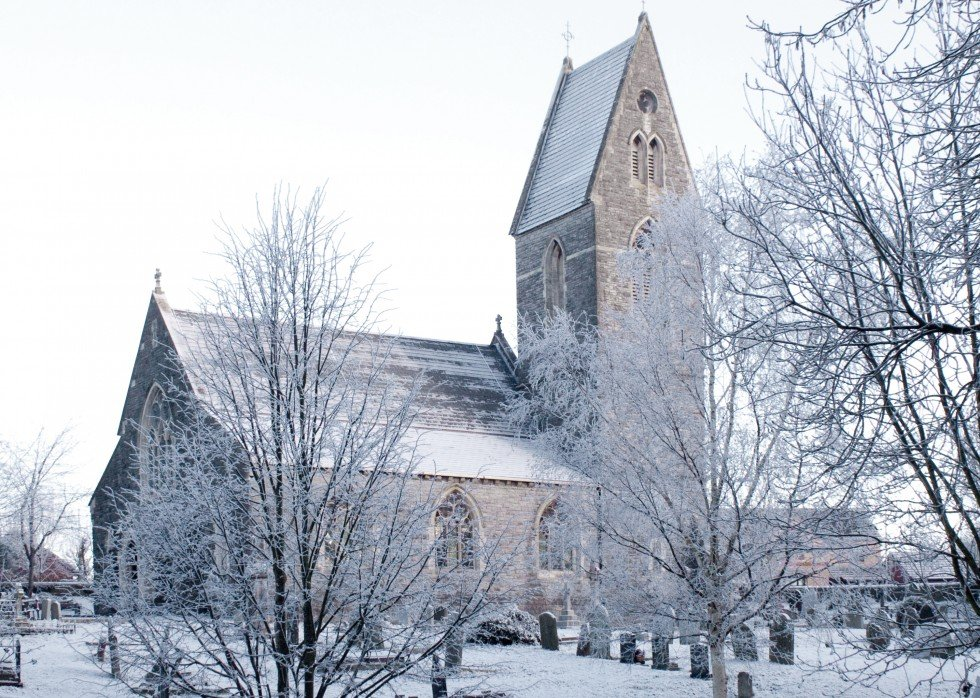 A Church in Winter