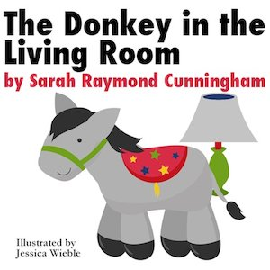 The Donkey in the Living Room, Book Cover