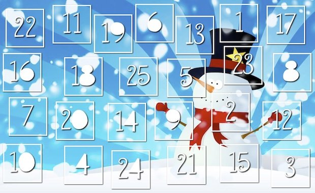 Countdown to Christmas with an Online Advent Calendar!