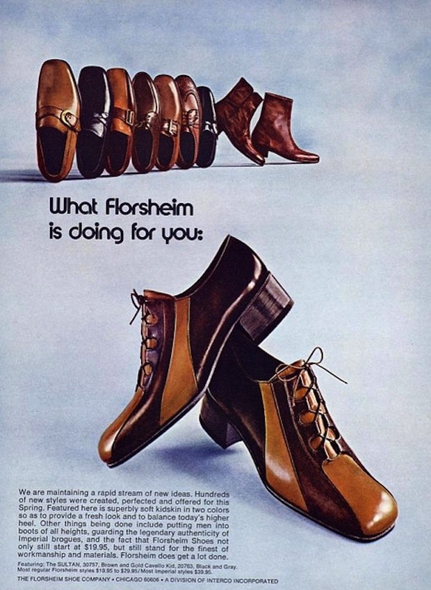 S Mens Shoes Magazine Ad