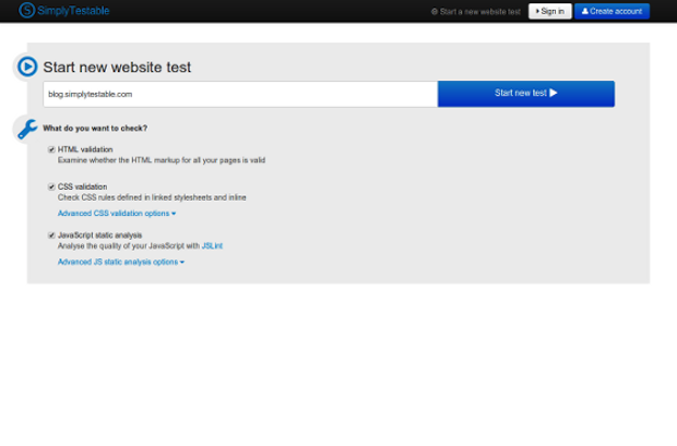SimplyTestable – Automated Front-End Web Testing