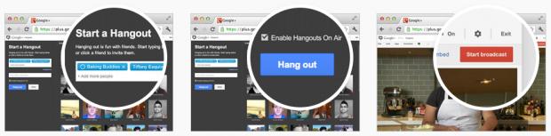 Google Plus Hangout