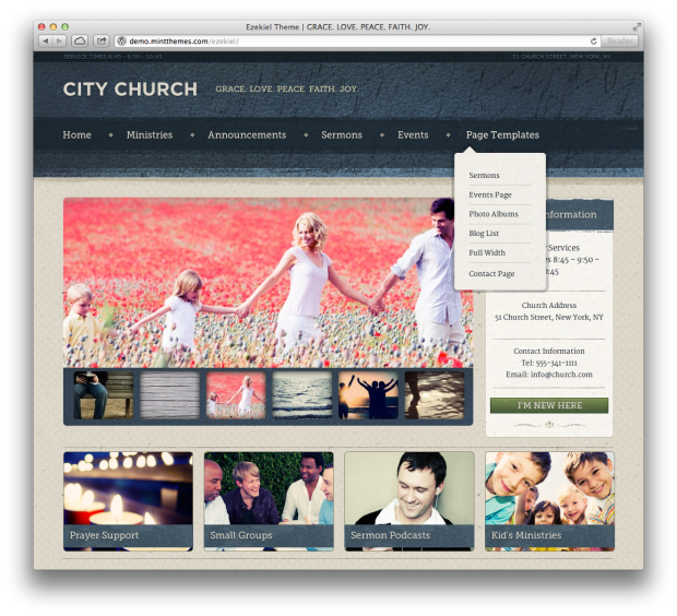 Premium Church WordPress Themes