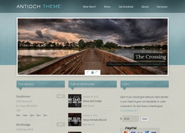 4 Church WP Theme