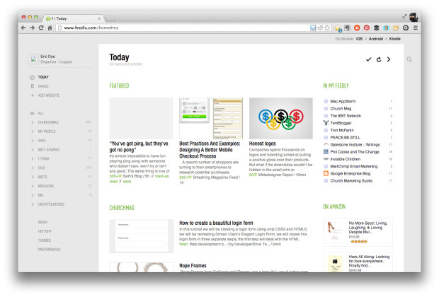 Feedly Action