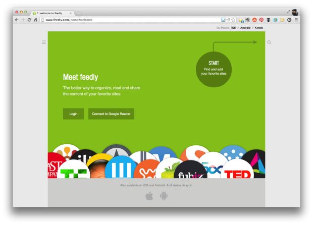 Feedly Import