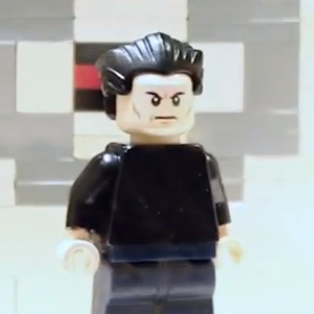 Screengrab from the LEGO Into Brickness Trailer