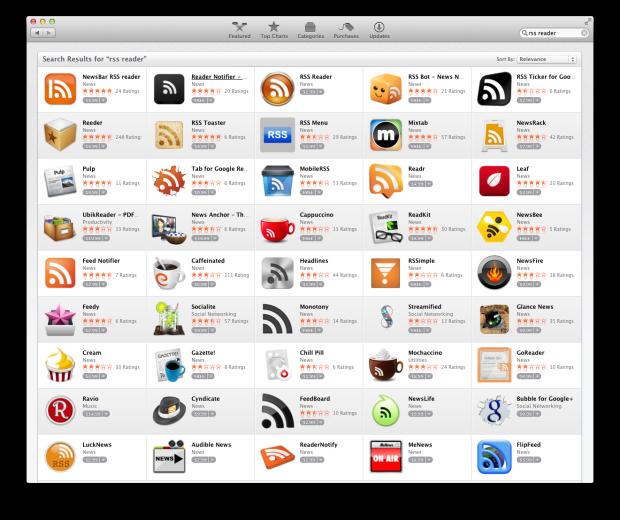 RSS Reader Apps