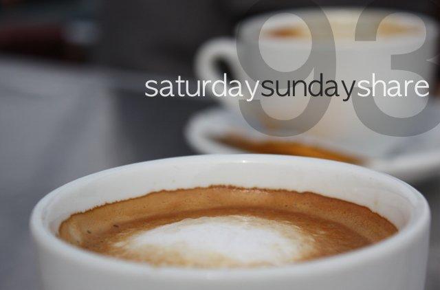 Saturday Sunday Share #93