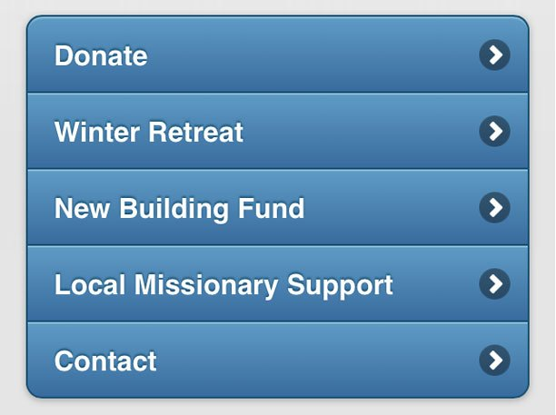 Simple Giver Funds List
