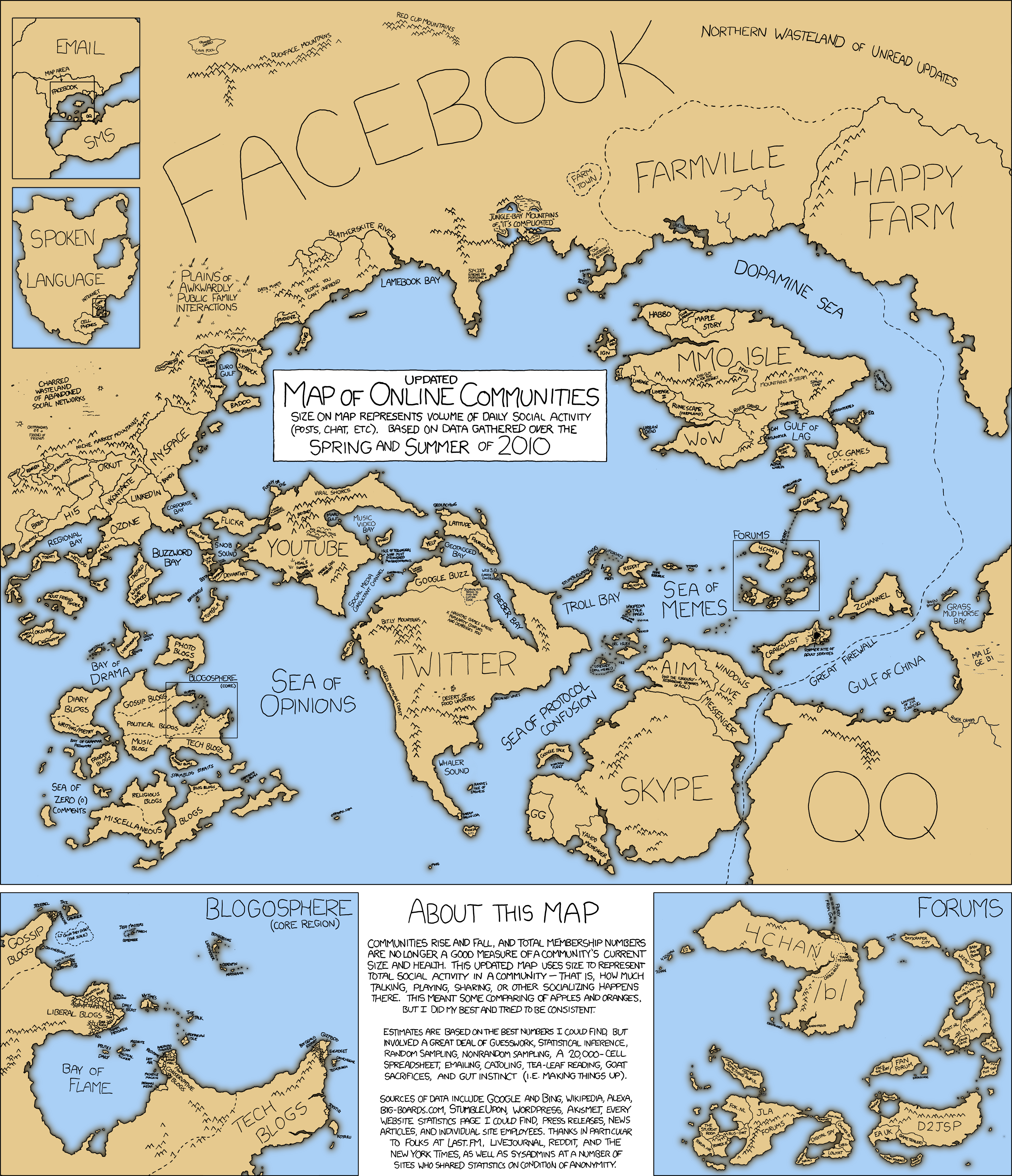 The Internet Maps Of 2007 2010 Today Churchmag