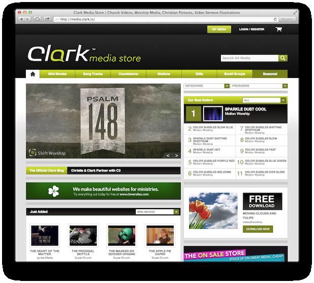 clark media store