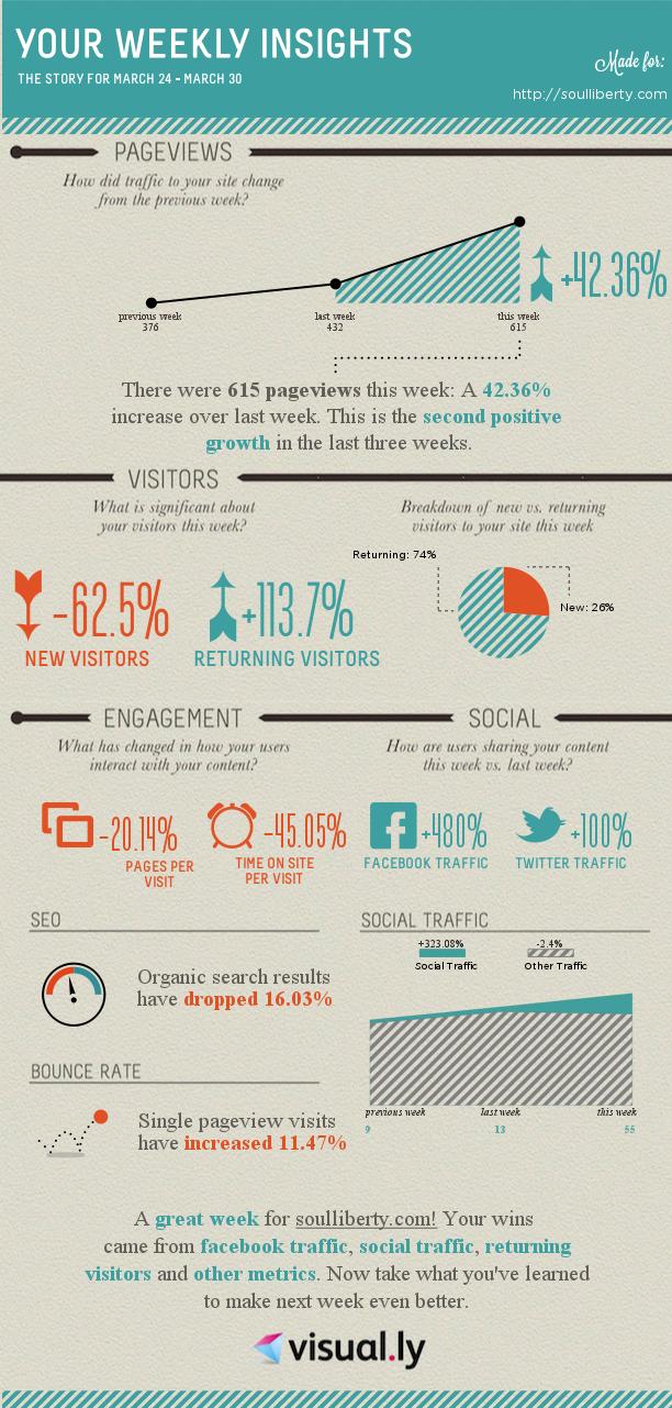 Visually Google Analytics Report