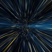 Hyperspace with CSS3
