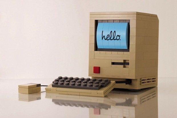 apple macintosh lego