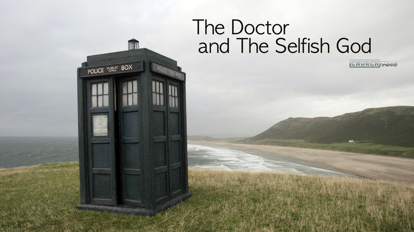 Science Fiction & Biblical Reality: The Doctor and The Selfish God