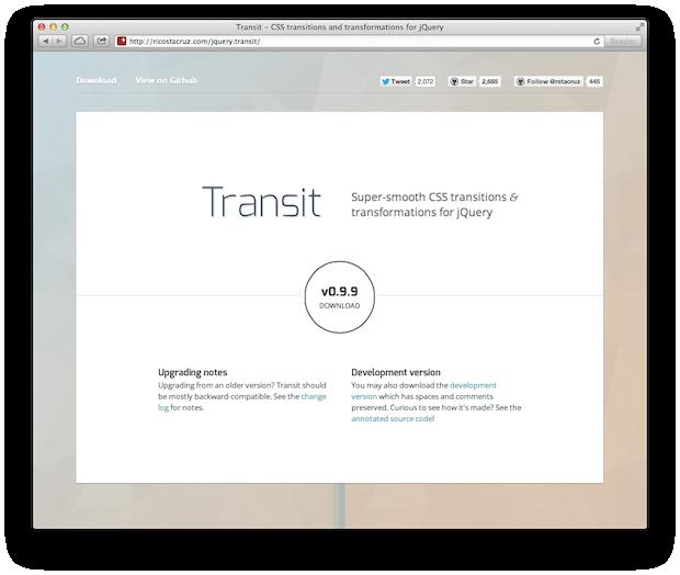 Transit CSS Transitions