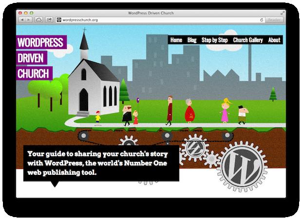 WordPress Driven Church
