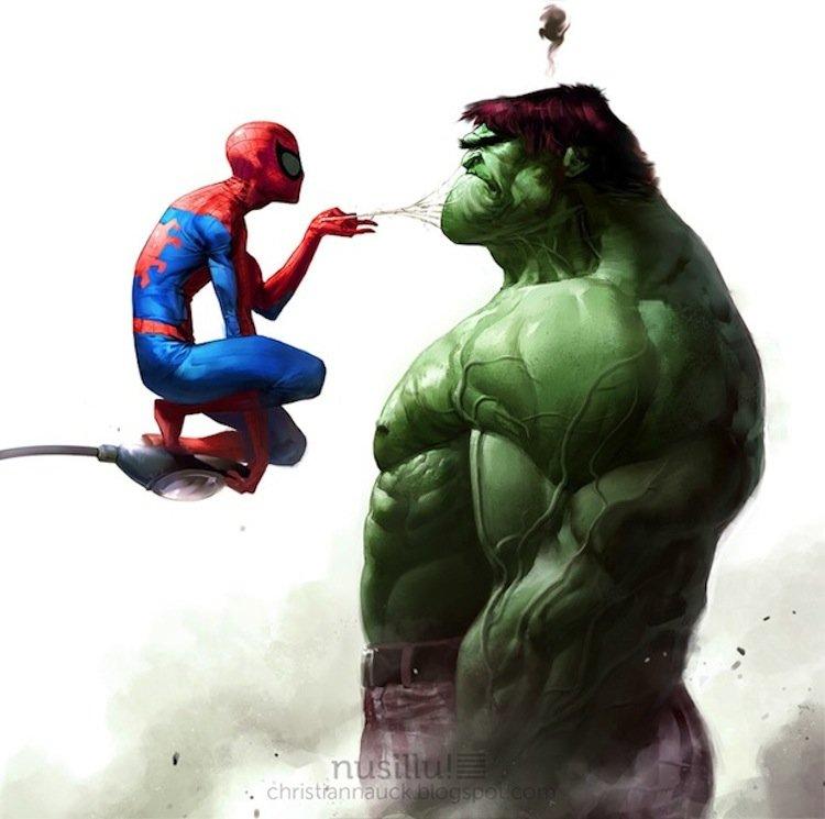 Spider-Man vs. Hulk