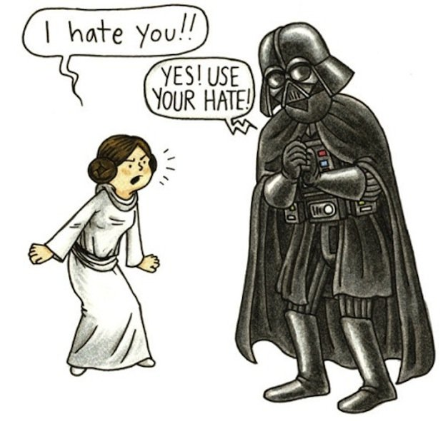 star wars father's day Vader's Little Princess