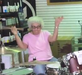 Grandma Drummer & Hipster Worship Leaders