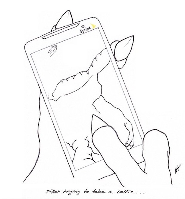 T Rex Trying Mobile 1