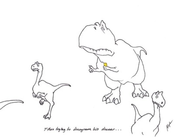 T Rex Trying Mobile 2