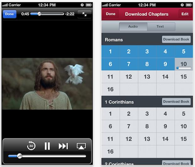 Bible-is iPhone App Screen 2