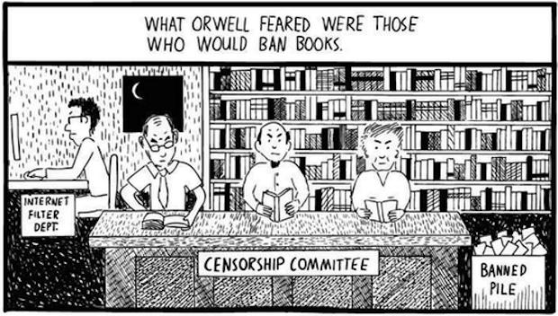 Huxley vs Orwell 1