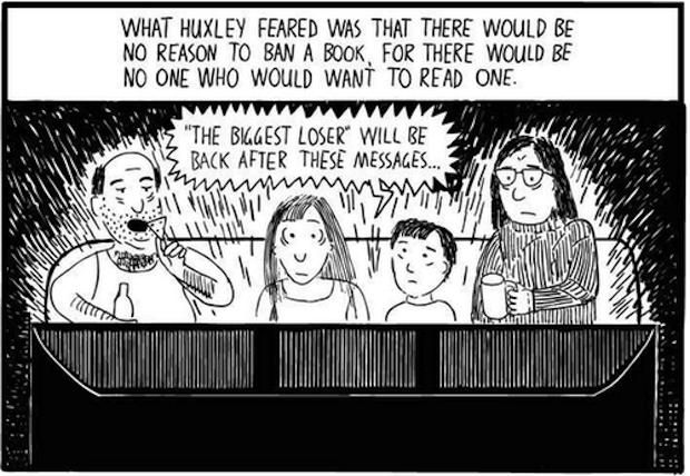 Huxley vs Orwell 2