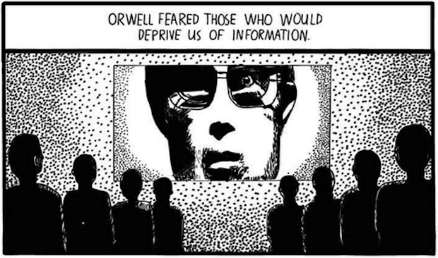 Huxley vs Orwell 3