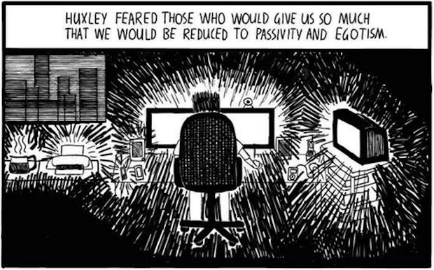 Huxley vs Orwell 4