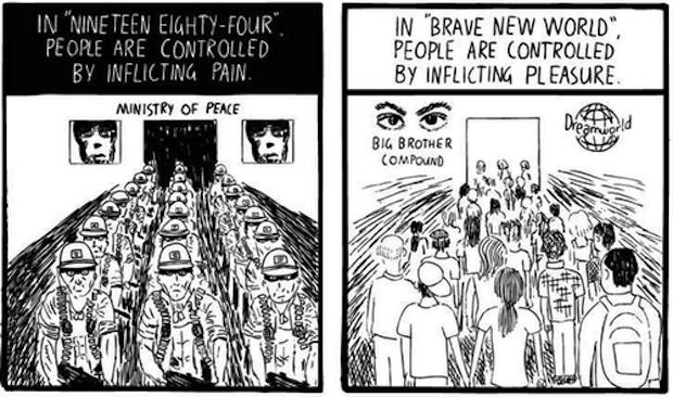 Huxley vs Orwell 5