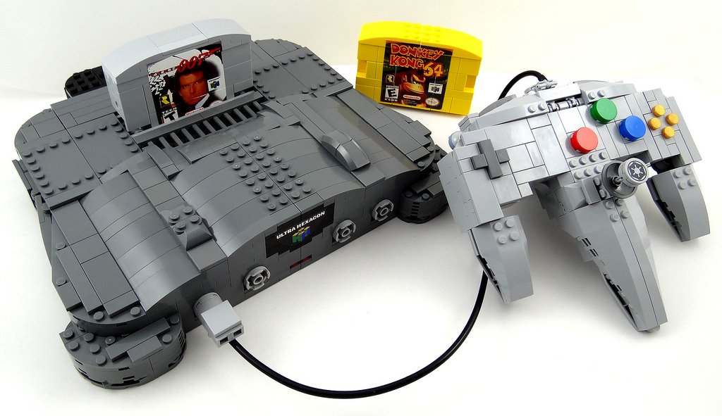 This is #EPIC: LEGO Nintendo Transformer