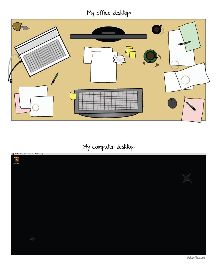 Office Desktop vs Computer Desktop