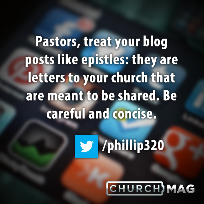 Stuff Church Techies Say: Let's All Blog