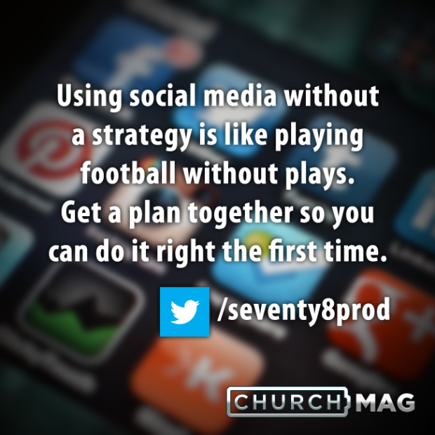 Stuff Church Techies Say Quote - social media and success