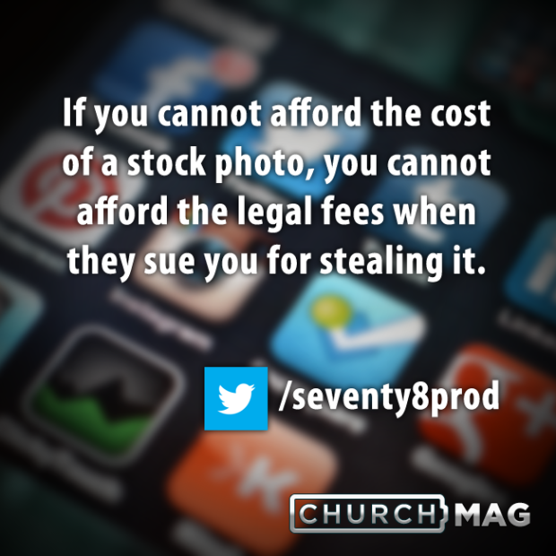 Stuff Church Techies Say Quote - stock photo cost