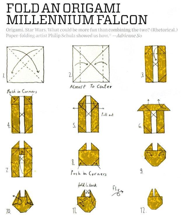 fold-millennium-falcon-origami-ship