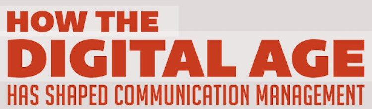 How the Digital Age Has Shaped Communication Management [Infographic]
