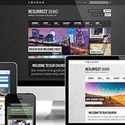 ChurchThemes.com's Stellar Church WordPress Theme: Resurrect